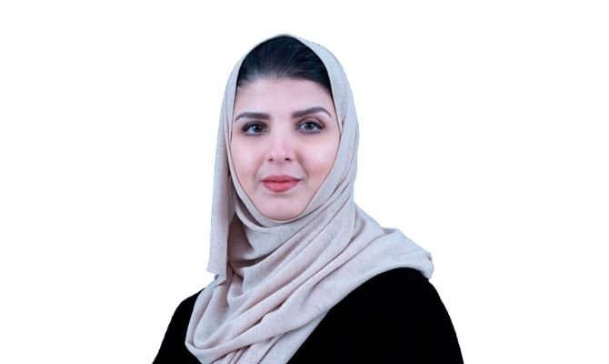 Dr. Fatima Al-Hamlan, chair of the global health working group of the Civil Society 20