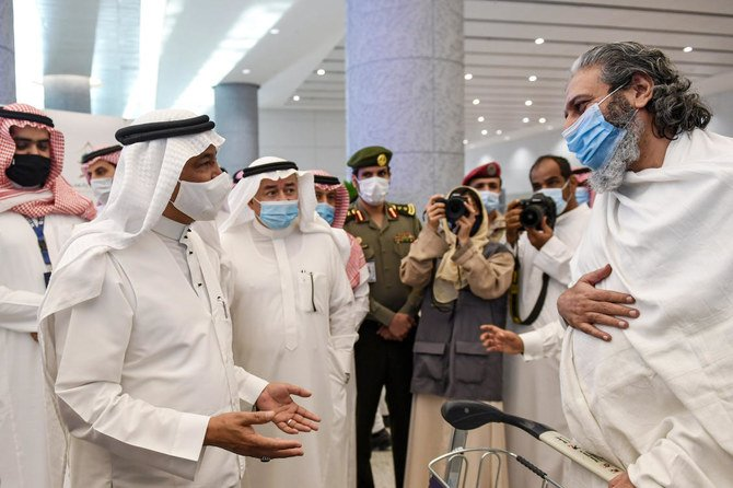 Saudi Arabia receives first foreign pilgrims in 7 months