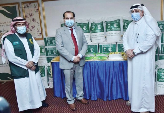 KSRelief sends relief packages to flood and COVID-19 victims in Pakistan's Sindh province