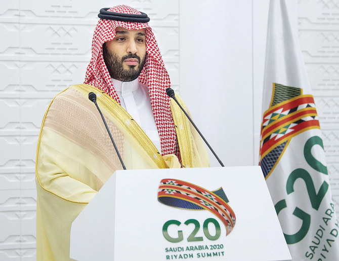 Saudi crown prince suggests two G20 extraordinary leaders' meetings to take place yearly