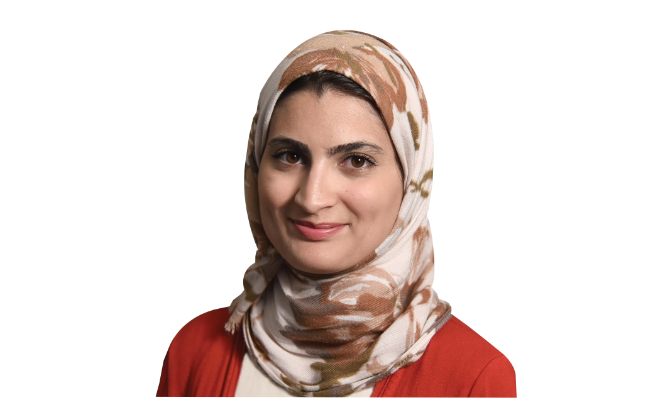 Dr. Emtinan Al-Qurashi, assistant director at Philadelphia's Temple University