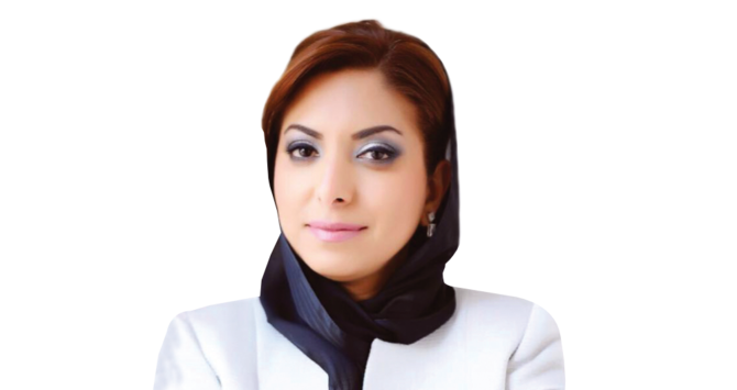 Afnan Al-Shuaiby, chair of the Arab International Women's Forum