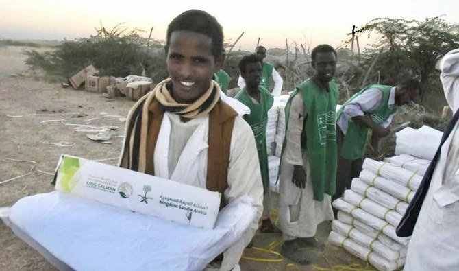 Shelter aid provided to Sudan flood victims