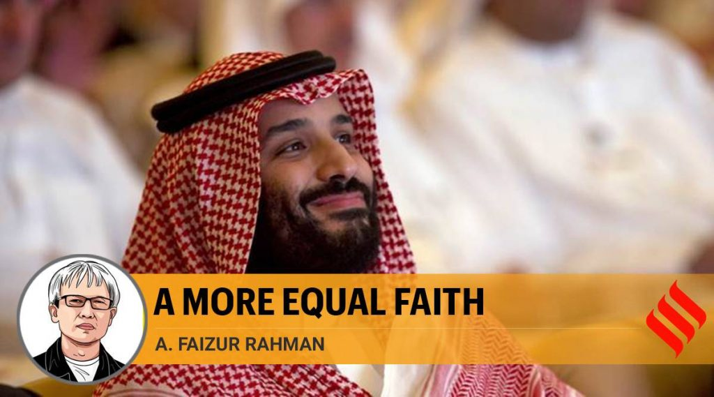 Attempt in Saudi Arabia to restore and reform Islamic law is welcome