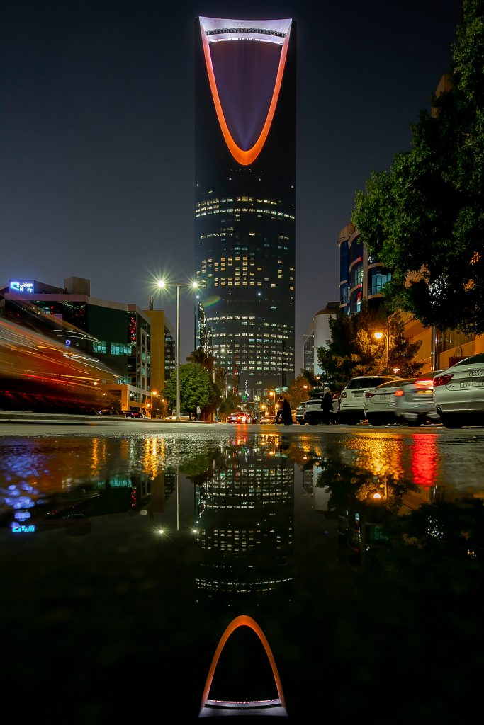 Kingdom Tower Lights up in Orange to Mark World Neglected Tropical Diseases Day