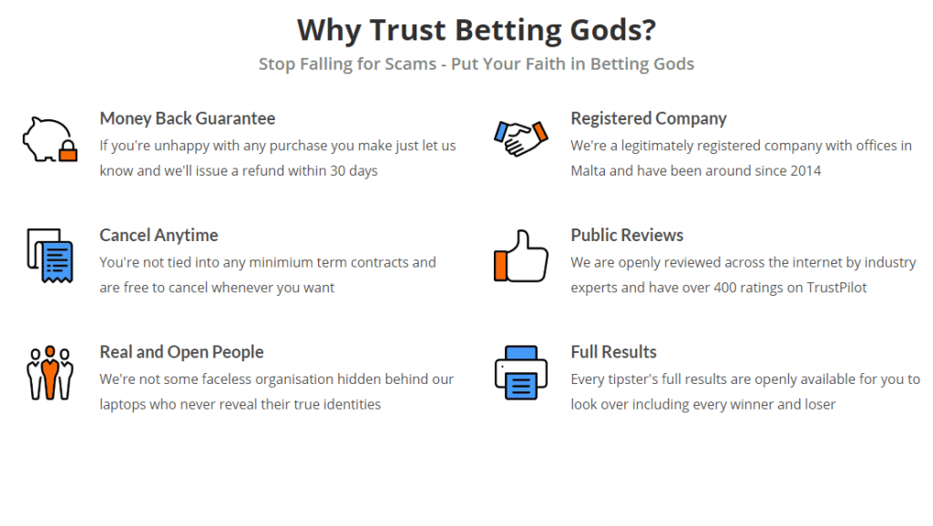 why trust betting gods