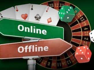 Gambling Online vs Offline