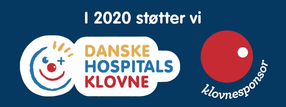 Vi støtter Danske Hospitalsklovne 2020