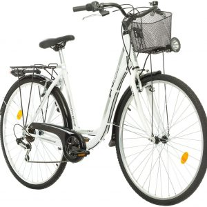 City Fahrrad Weiss