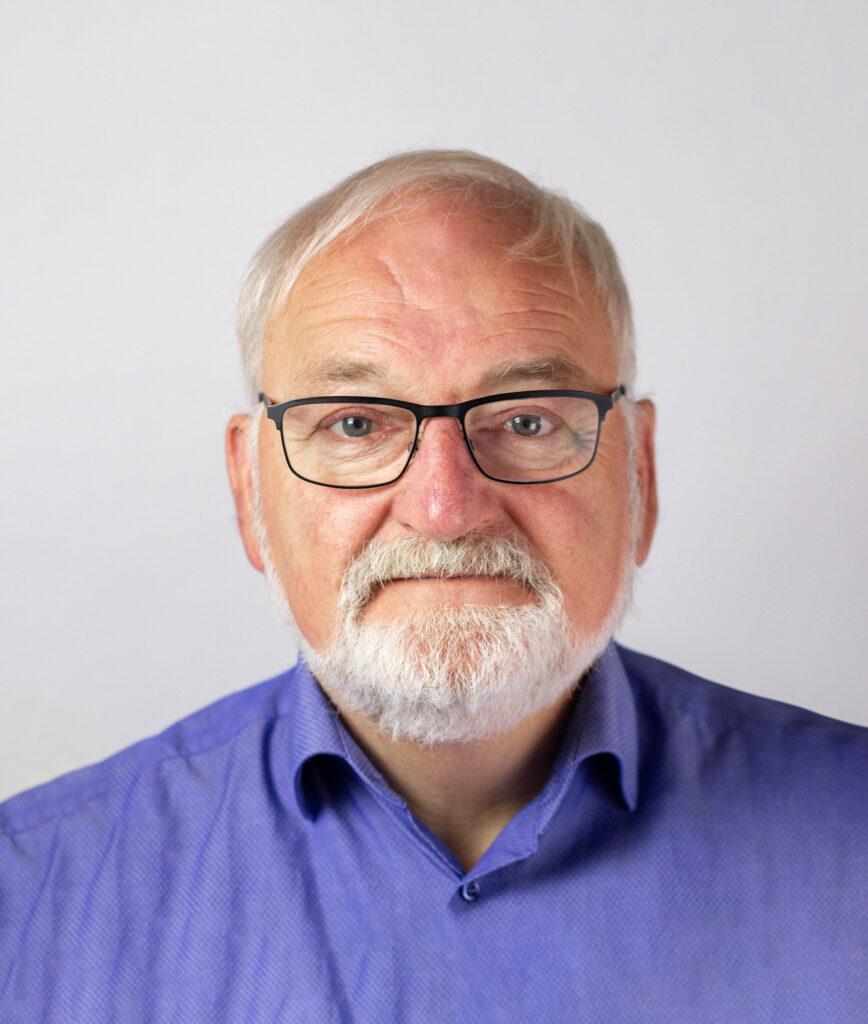 portrætbillede af chefen hos Toppenberg