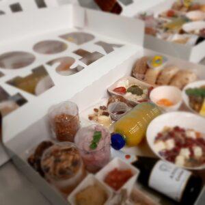 Lunchboxen en apéroboxen voor bedrijven
