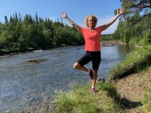 Yoga vid vattnet