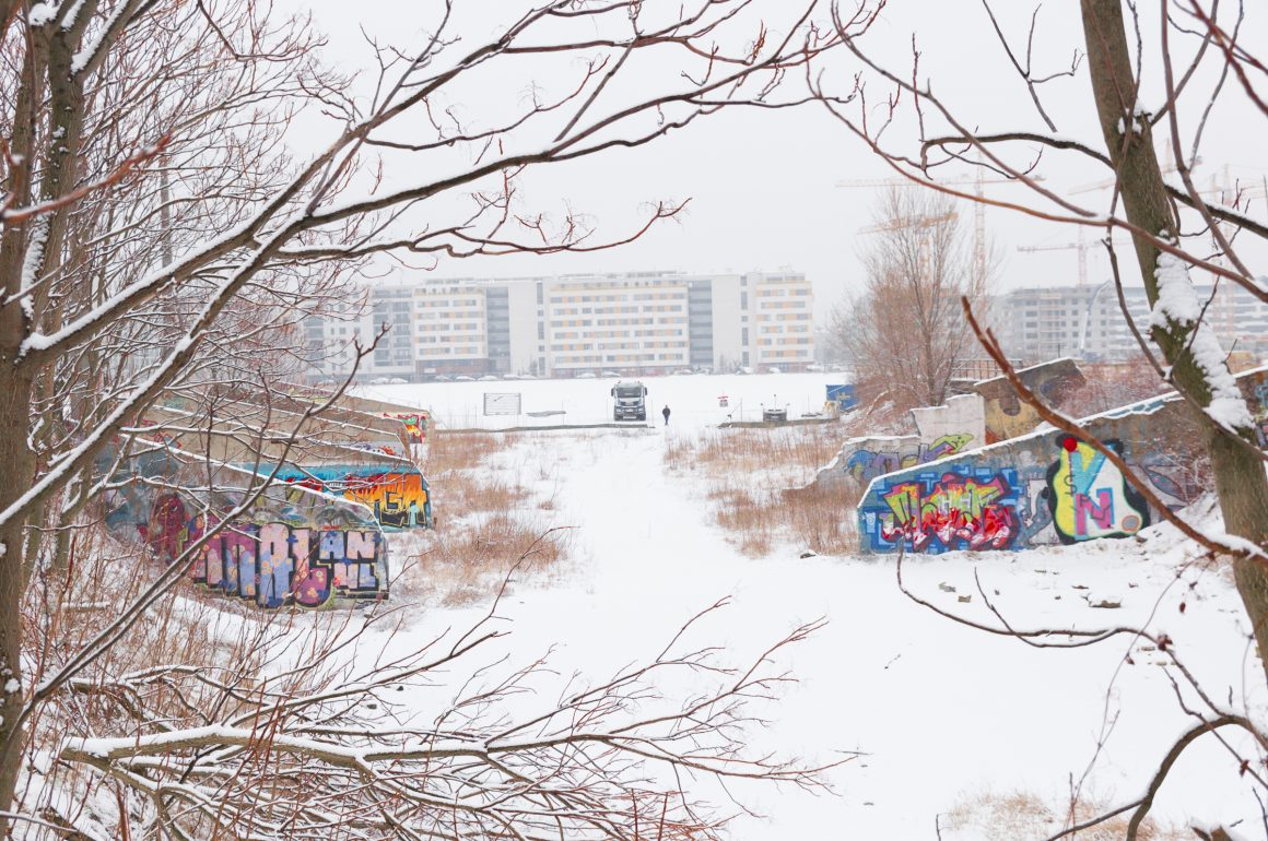 Winter am Wiener Nordbahnhof 2
