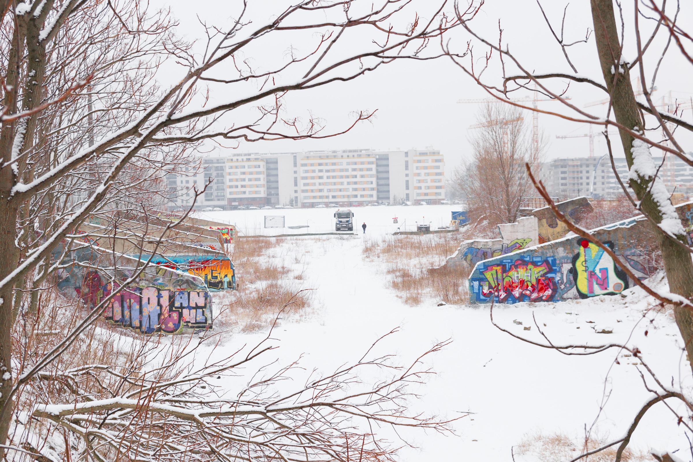 Winter am Wiener Nordbahnhof 1