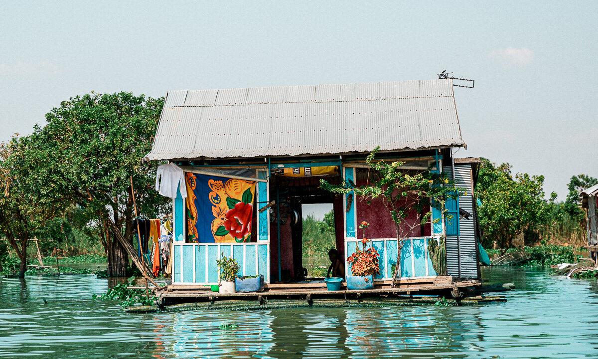 Mit dem Boot nach Angkor Wat 1
