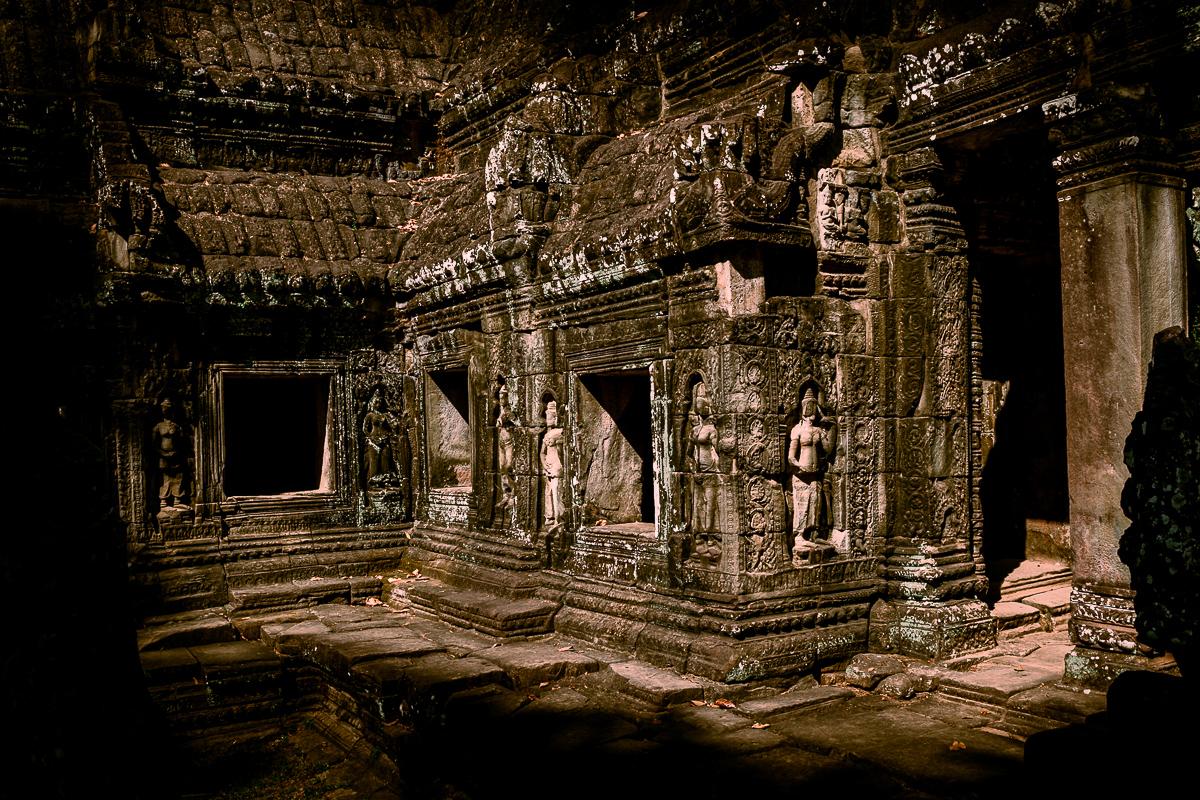 Angkor Wat und die lachenden Gesichter Kambodschas 26