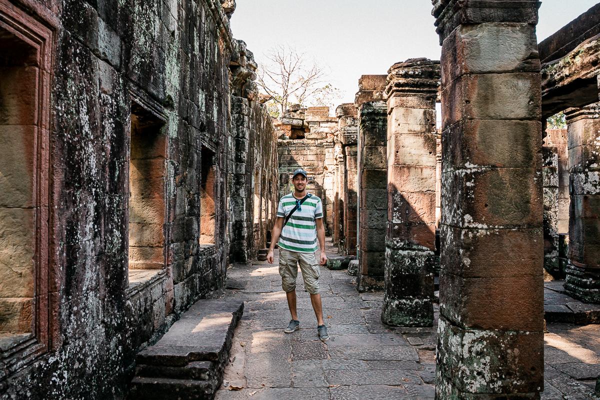 Angkor Wat und die lachenden Gesichter Kambodschas 24