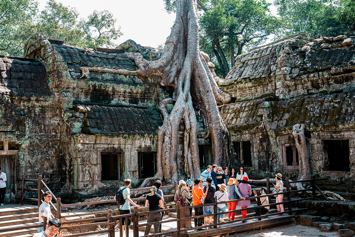 Angkor Wat und die lachenden Gesichter Kambodschas 19
