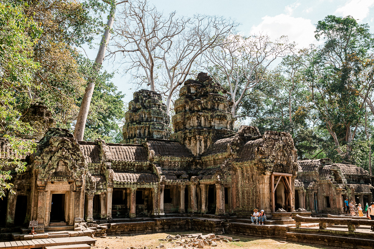 Angkor Wat und die lachenden Gesichter Kambodschas 52