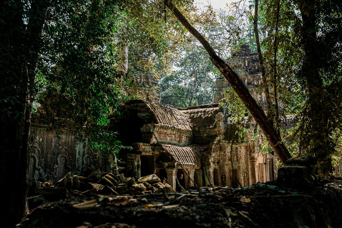 Angkor Wat und die lachenden Gesichter Kambodschas 51