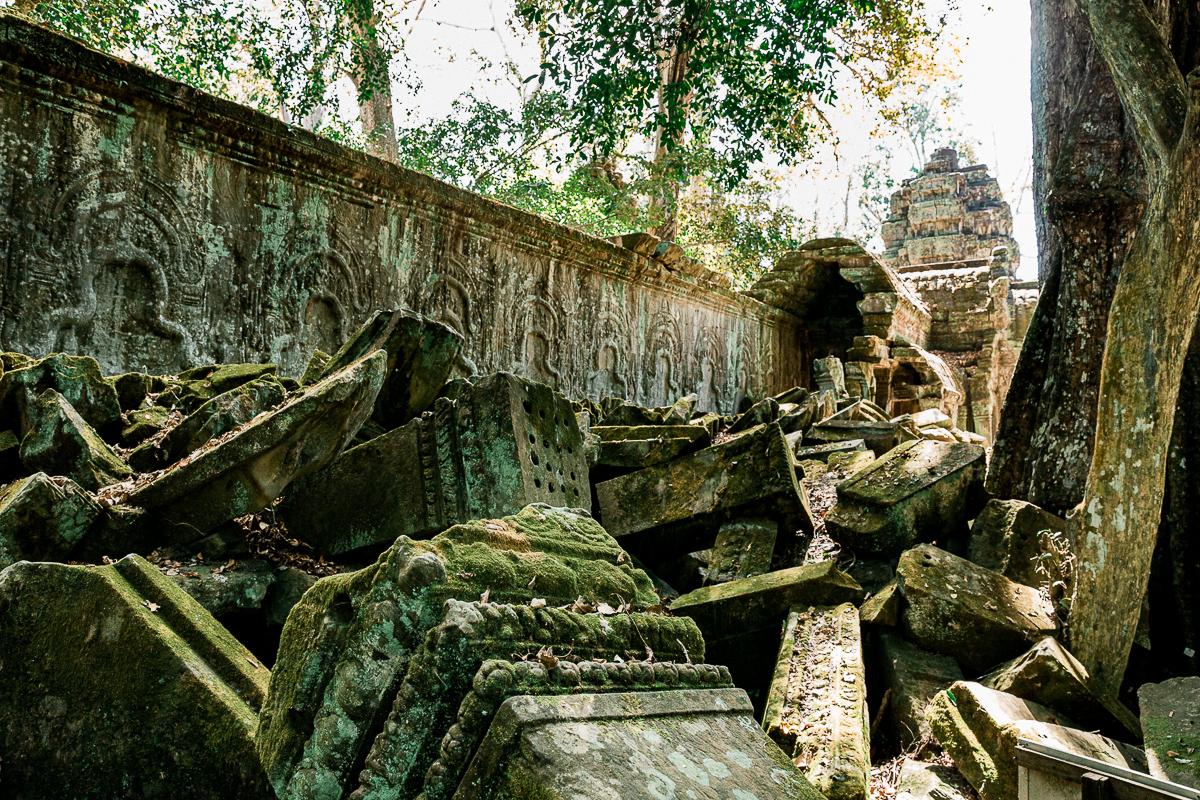 Angkor Wat und die lachenden Gesichter Kambodschas 50