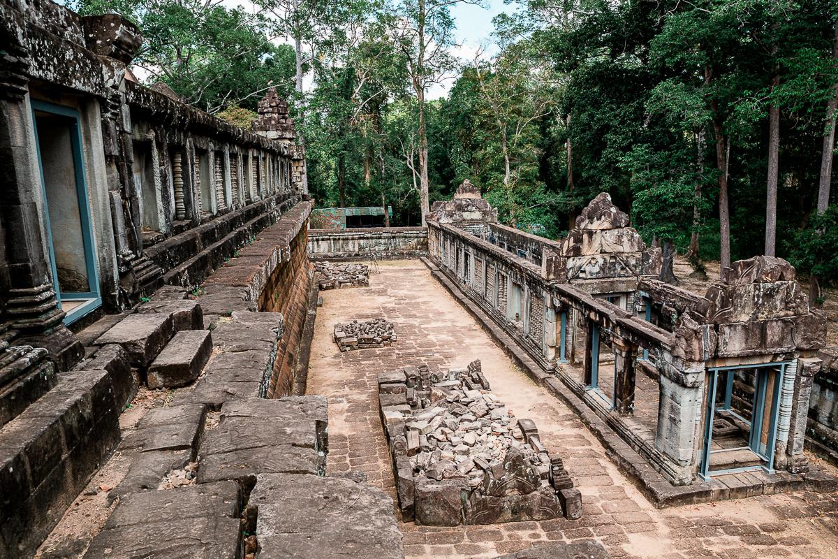 Angkor Wat und die lachenden Gesichter Kambodschas 48