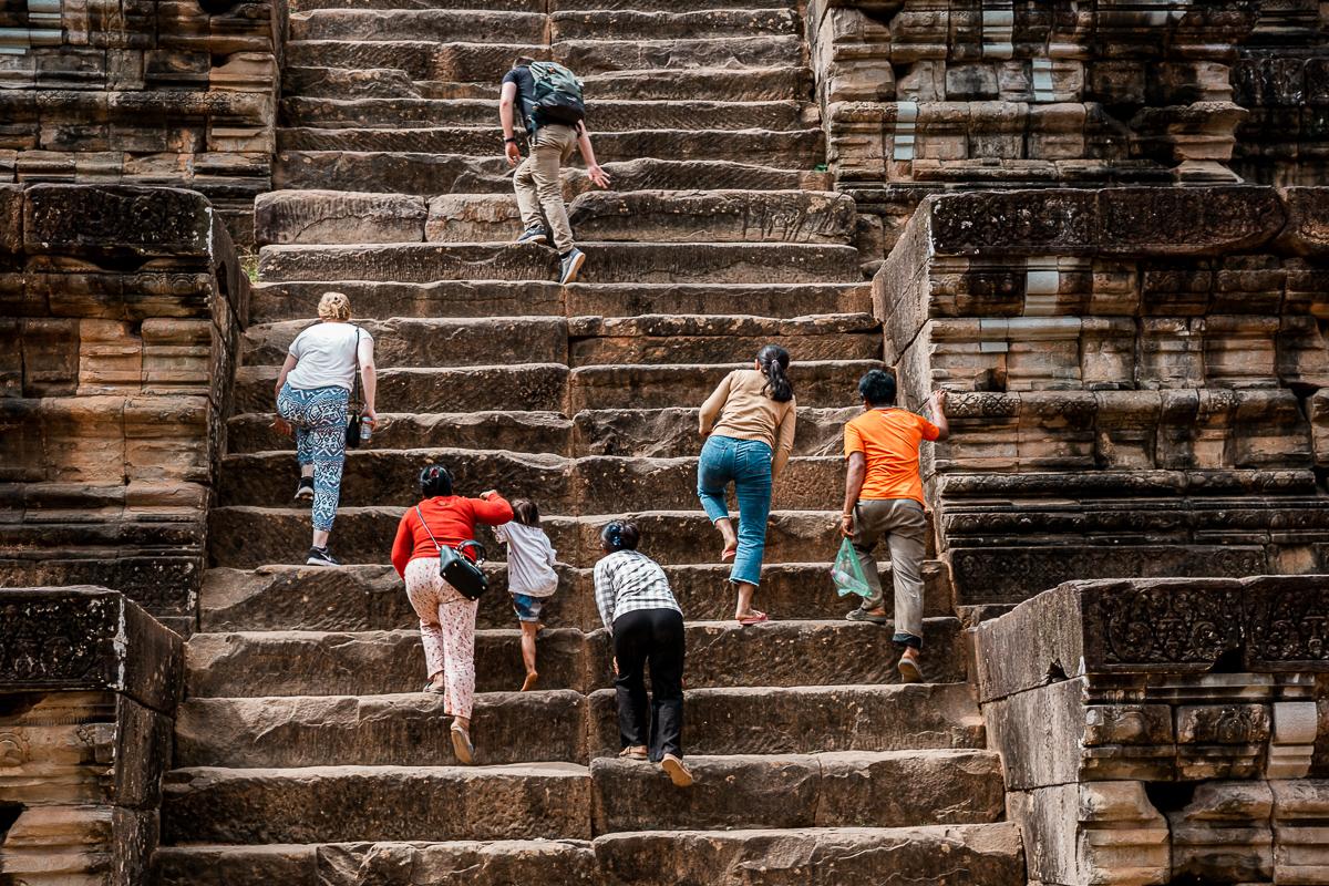 Angkor Wat und die lachenden Gesichter Kambodschas 47