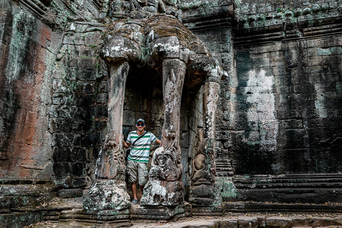 Angkor Wat und die lachenden Gesichter Kambodschas 11