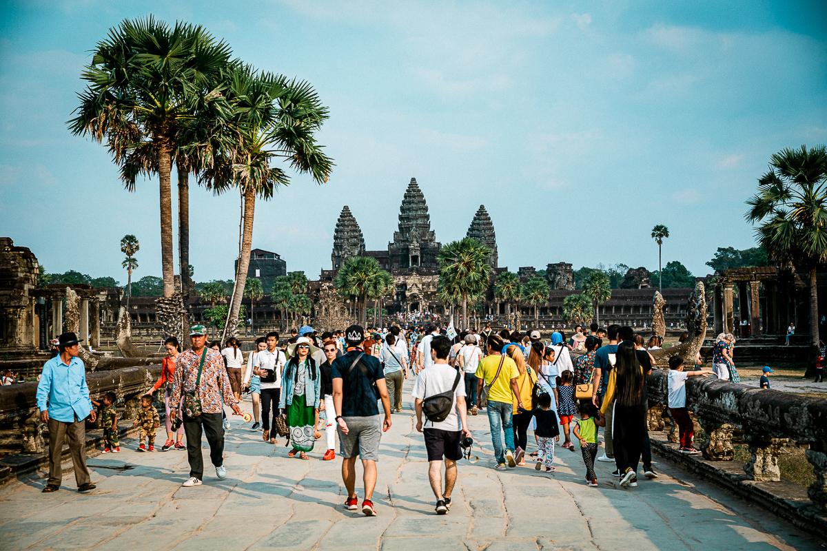 Angkor Wat und die lachenden Gesichter Kambodschas 4