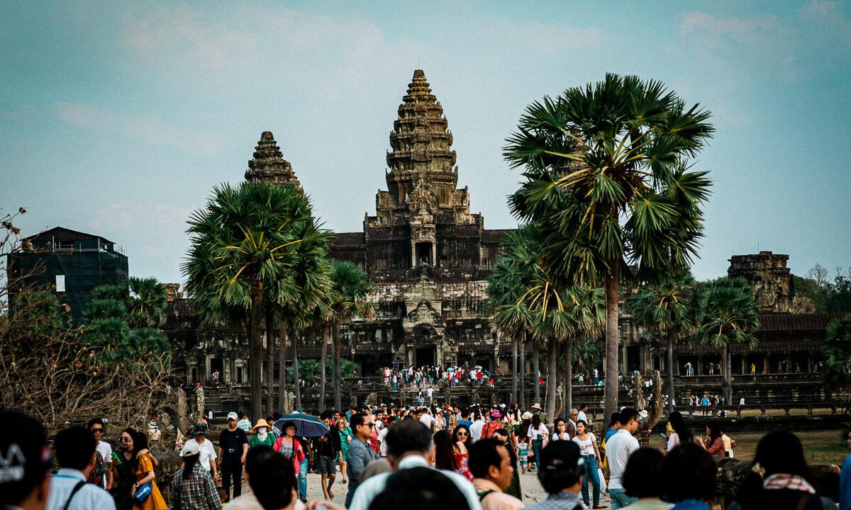 Angkor Wat und die lachenden Gesichter Kambodschas 3