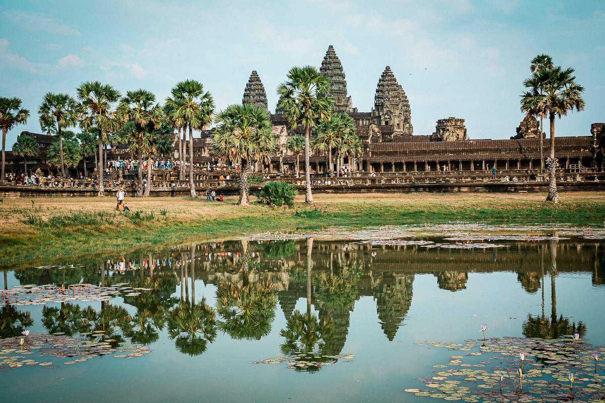 Angkor Wat und die lachenden Gesichter Kambodschas 58