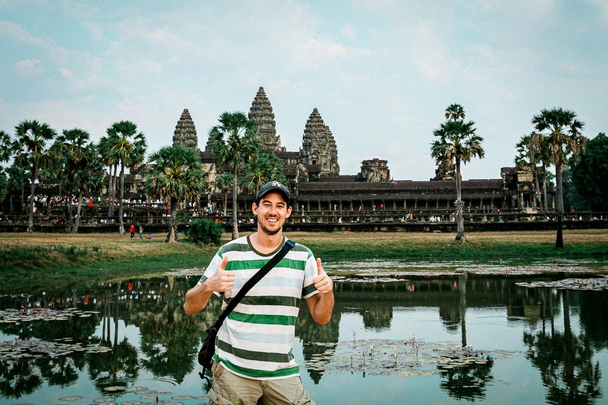 Angkor Wat und die lachenden Gesichter Kambodschas 57