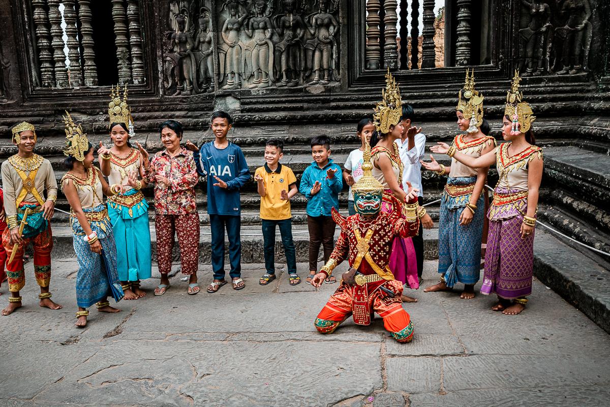 Angkor Wat und die lachenden Gesichter Kambodschas 61