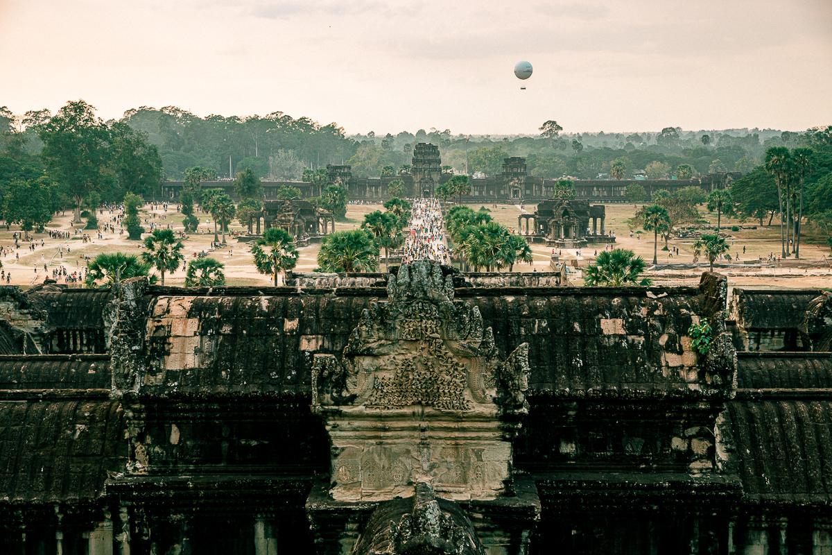 Angkor Wat und die lachenden Gesichter Kambodschas 59