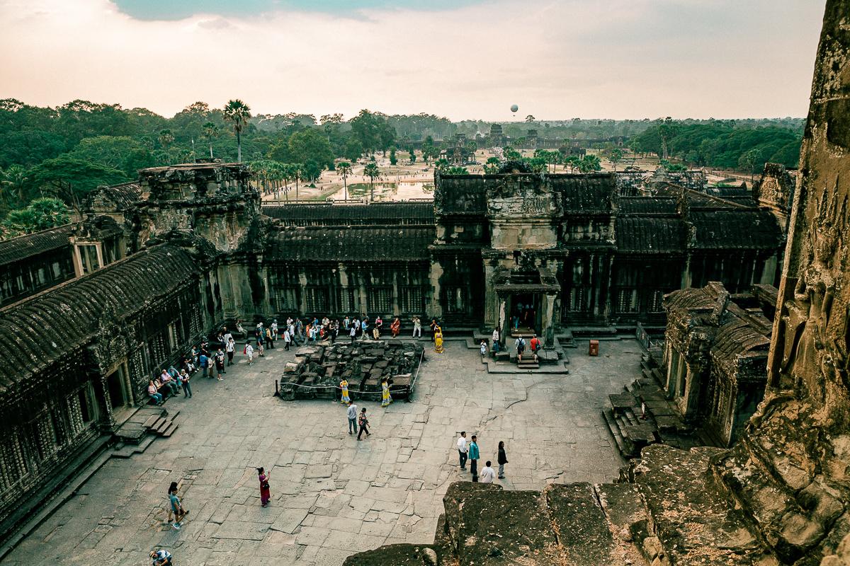 Angkor Wat und die lachenden Gesichter Kambodschas 75