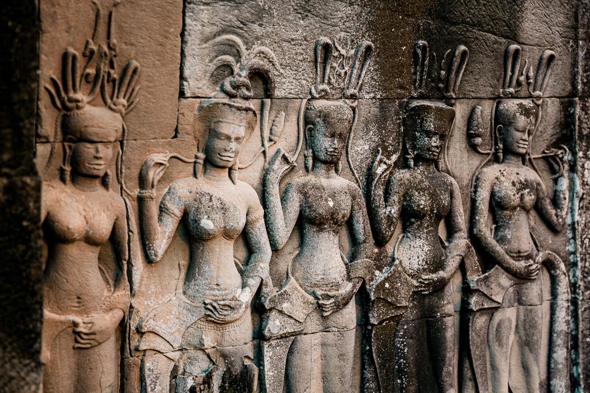 Angkor Wat und die lachenden Gesichter Kambodschas 74