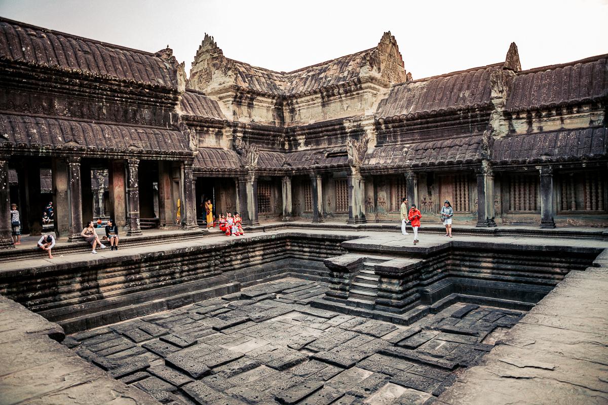 Angkor Wat und die lachenden Gesichter Kambodschas 73