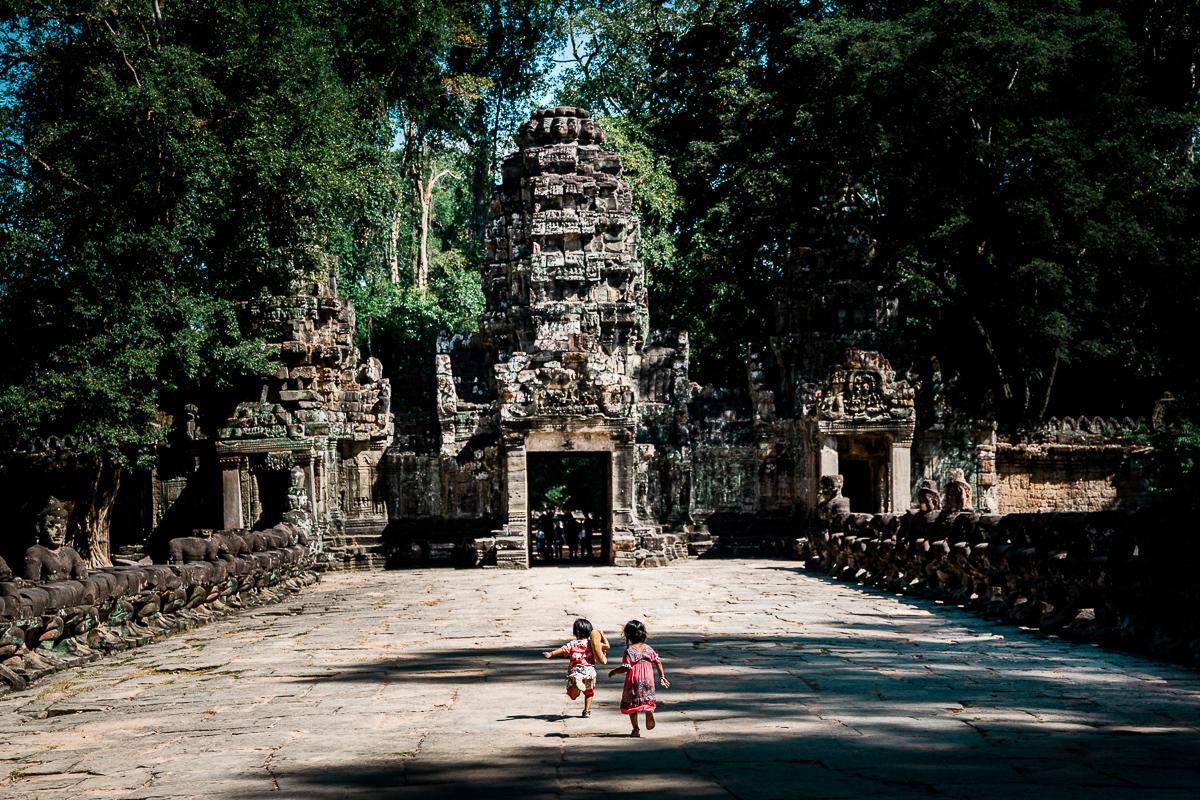 Angkor Wat und die lachenden Gesichter Kambodschas 42