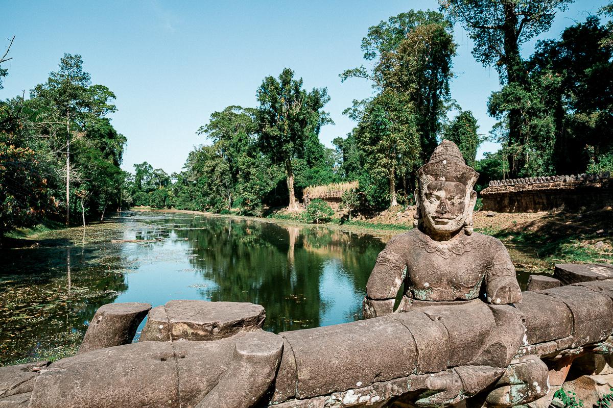 Angkor Wat und die lachenden Gesichter Kambodschas 54