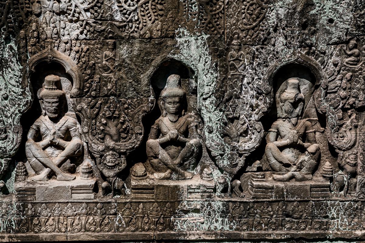 Angkor Wat und die lachenden Gesichter Kambodschas 41