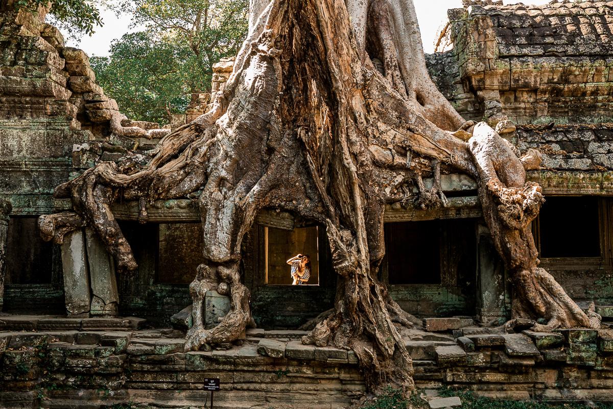 Angkor Wat und die lachenden Gesichter Kambodschas 40