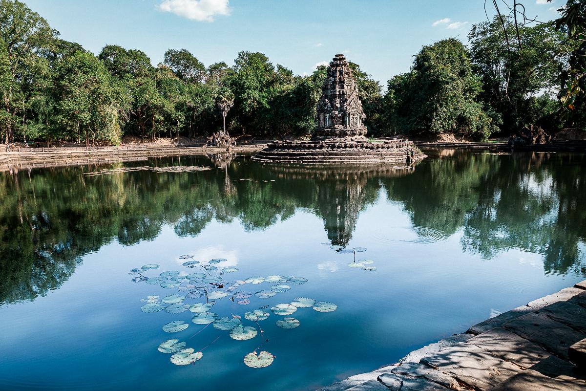 Angkor Wat und die lachenden Gesichter Kambodschas 56