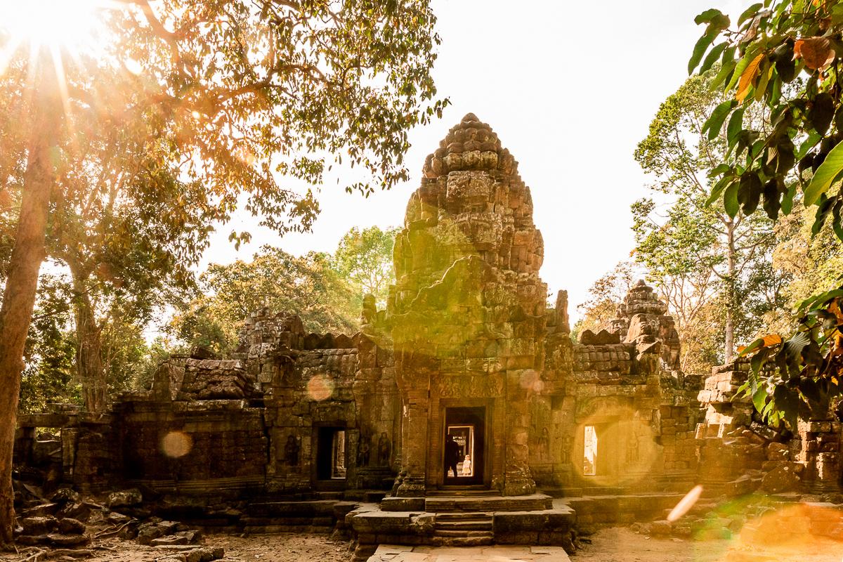 Angkor Wat und die lachenden Gesichter Kambodschas 36