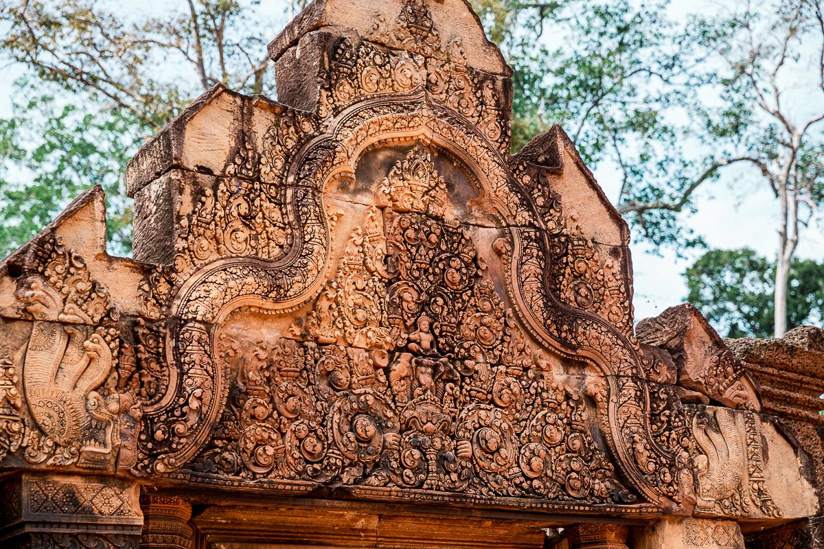 Angkor Wat und die lachenden Gesichter Kambodschas 32