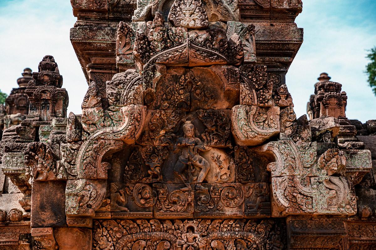 Angkor Wat und die lachenden Gesichter Kambodschas 30
