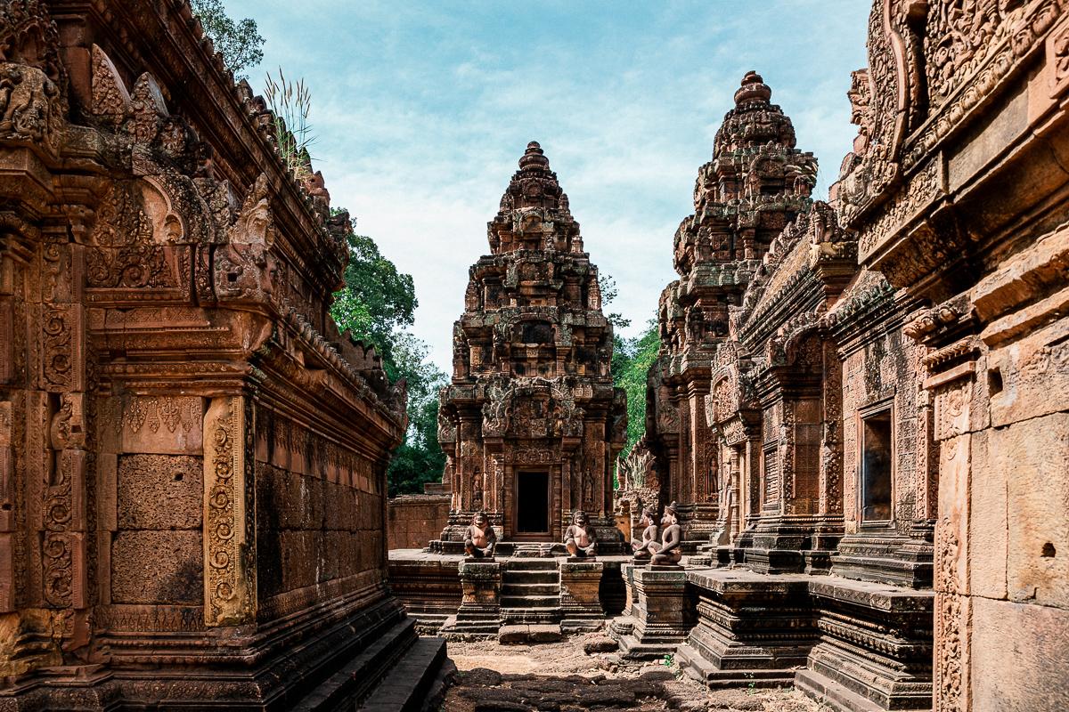 Angkor Wat und die lachenden Gesichter Kambodschas 29
