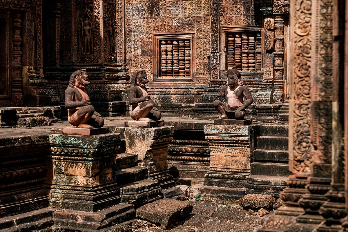 Angkor Wat und die lachenden Gesichter Kambodschas 28