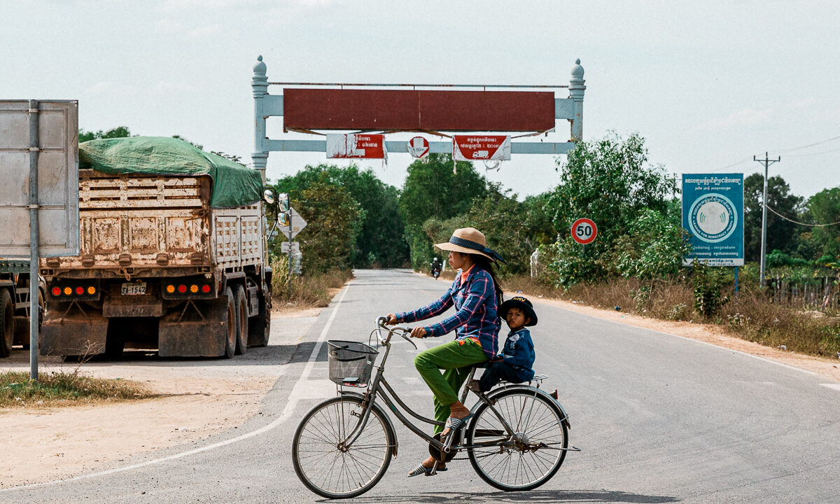 Kambodscha TukTuk Ride 1