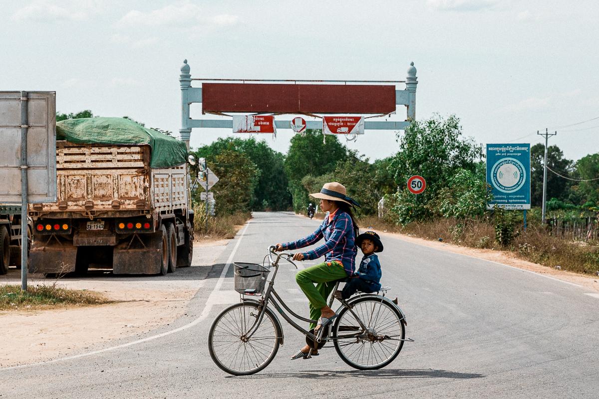 Kambodscha TukTuk Ride 6