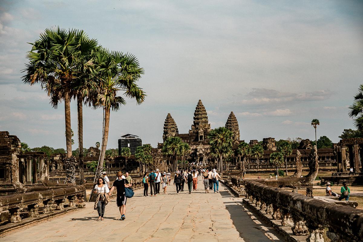 Angkor Wat und die lachenden Gesichter Kambodschas 72